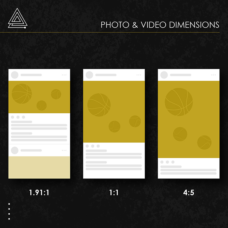 instagram photo and video dimensions