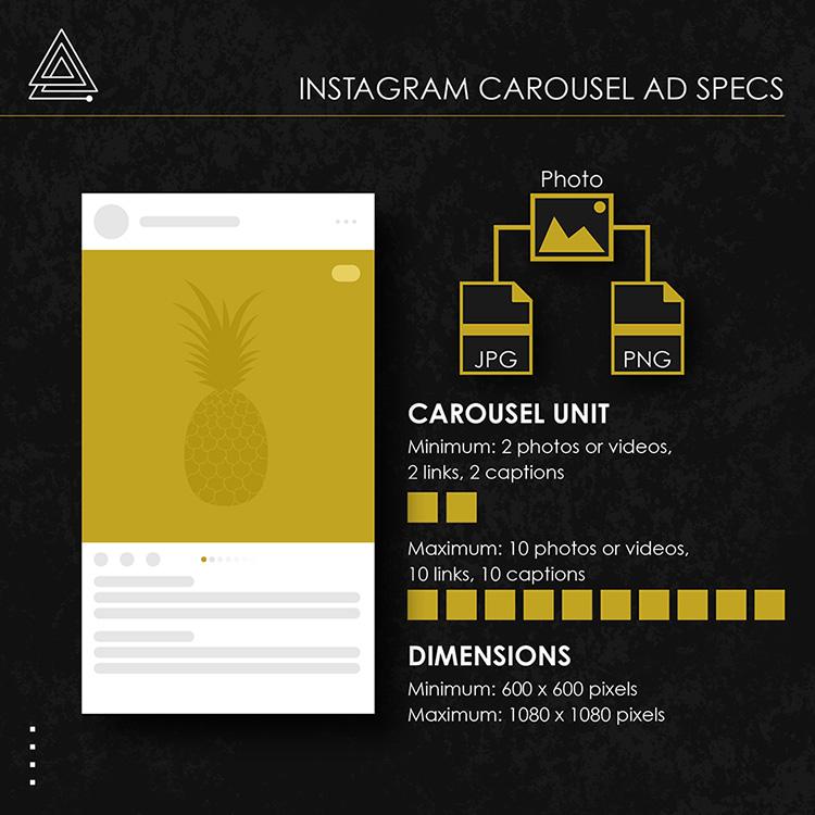 Instagram carousel ad specs