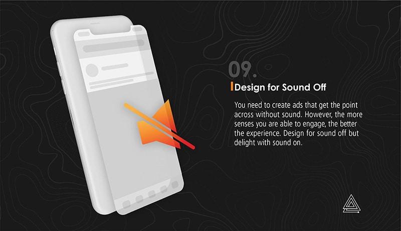 design ads for sound off
