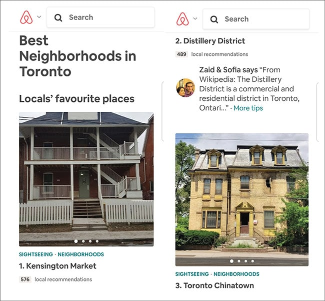 airbnb neighborhood guide